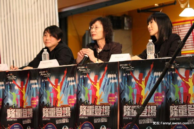 《隆重登場》首度面試的評委 Jo Chan、崔明慧和劉美誼