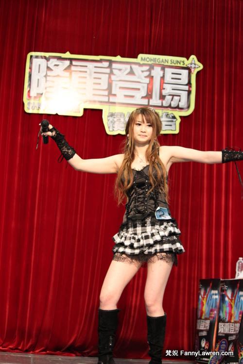 參賽者 Sherry Yang