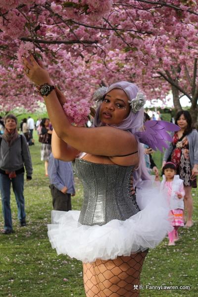 Cosplay (Costume Play) Fashion Show at Sakura Matsuri in Brooklyn Botanic Garden