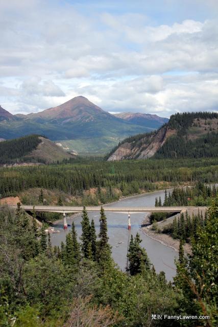 Alaska Anchorage to Denali National Park 阿拉斯加安克雷奇北上德納利國家公園