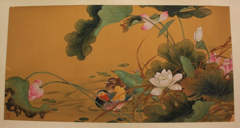 鄭于一書畫展:荷塘伴侶
