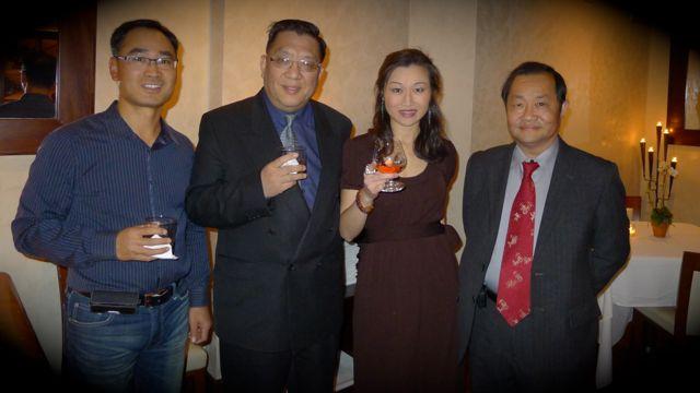 到場包括世界日報 Jimmy Gao、紐約僑聲薜台長 Richard、法拉盛華人促進會 Peter Tu。
