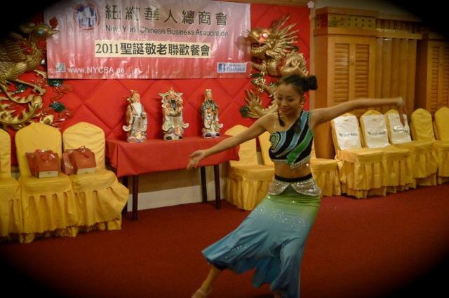 張夏櫻舞蹈老師的精彩舞姿