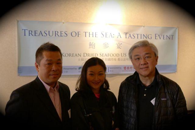 美國紐約華人總商會會長余建業 John Yu 及 News China 的行政總裁滕绍駿 Fred Teng