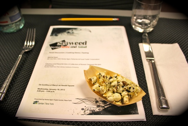Korean Seaweed - Beyond Sushi and Salad - New York event
