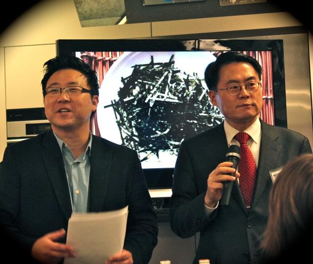 韓國農水產物流通公社的 CEO Jai-soo Kim