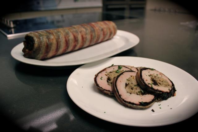 紫菜煙肉裹豬柳 Gim Stuffed Pork Loin Wrapped in Bacon - Korean Seaweed - Beyond Sushi and Salad - New York event