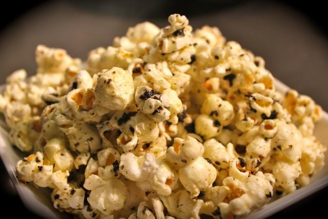 紫菜爆米花 Gim-Dressed Popcorn - Korean Seaweed - Beyond Sushi and Salad - New York event