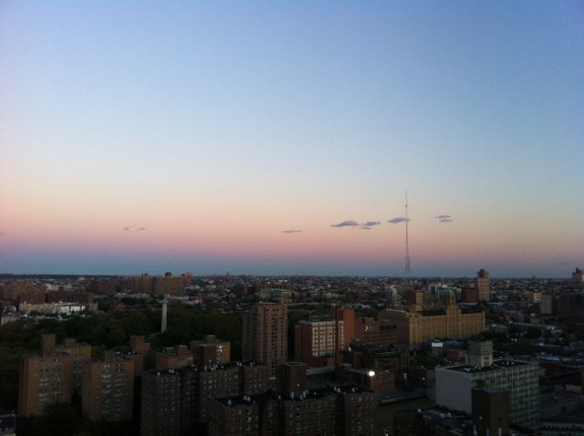 Sunrise in New York City 紐約日出