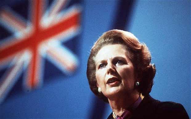 Iron Lady Margaret Thatcher 鐵娘子戴卓爾夫人(網上圖像)