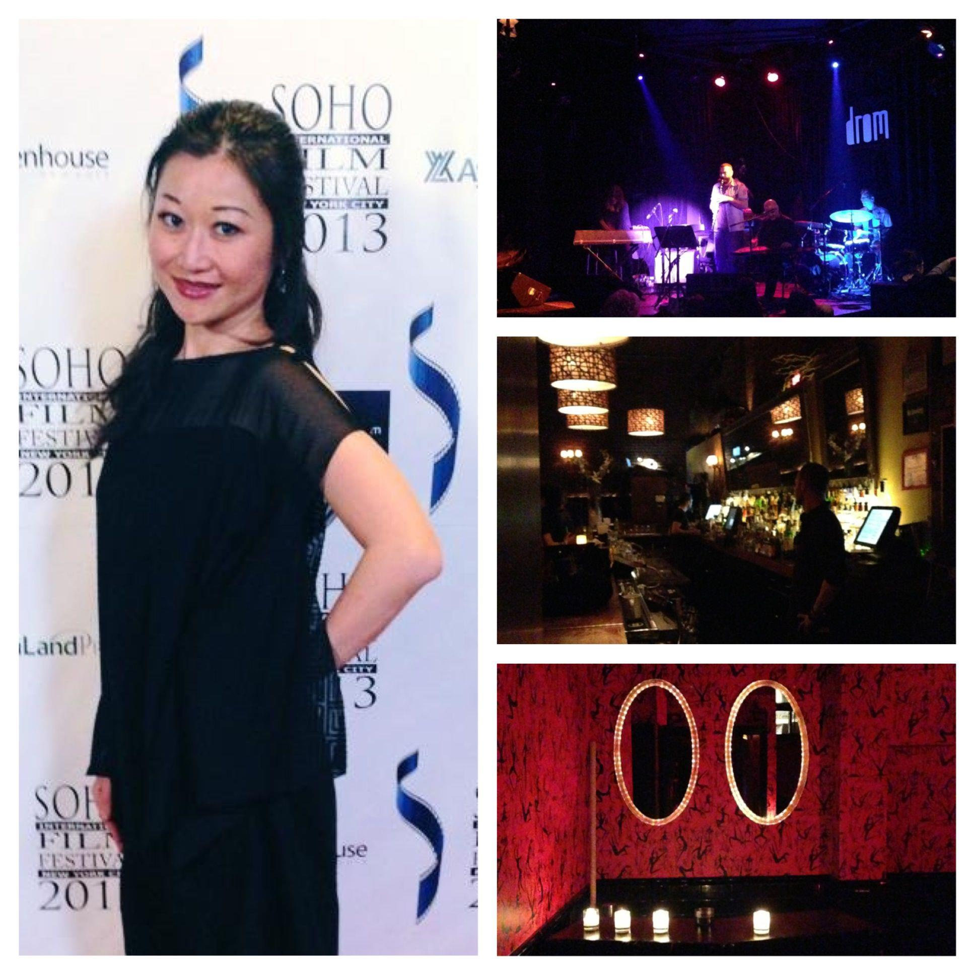梵婗於紐約蘇荷國際電影節 2013開幕、慶功酒會、土耳其樂隊開闊音樂會。
