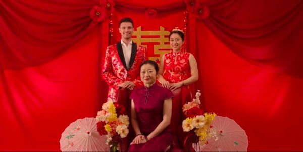 Red-family-wedding